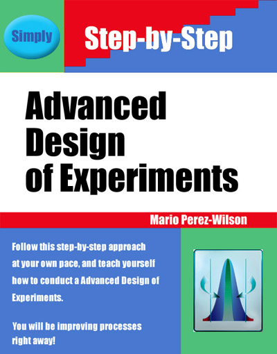 Book: Advanced Design of Experiments
