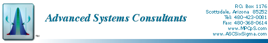 Advanced Systems Consultants Fostering World Class Excellence
