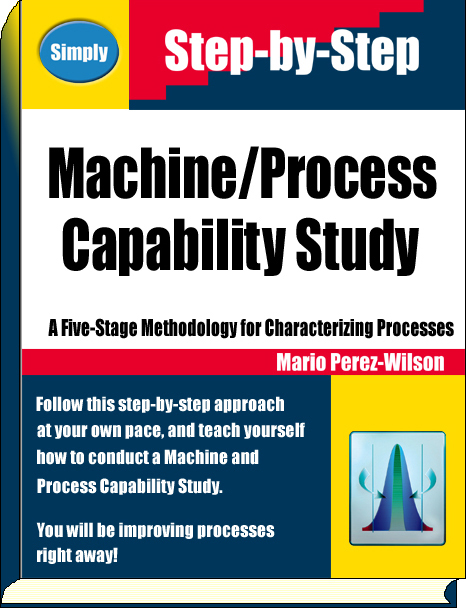Book: Machine/Process Capability Study